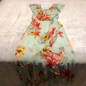 Summer Long Dress- Off the shoulder